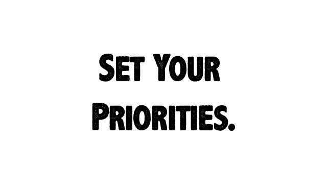 Dare priorità ai sogni